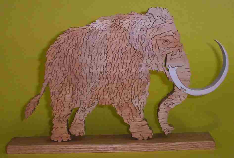 Scrollsaw mammoth
