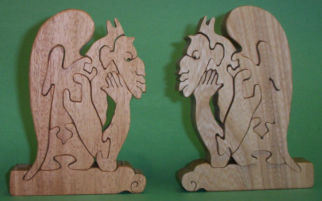 pair of gargoyles