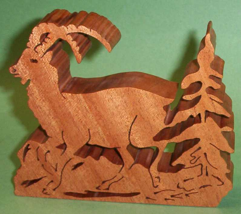 fretwork mountain goat