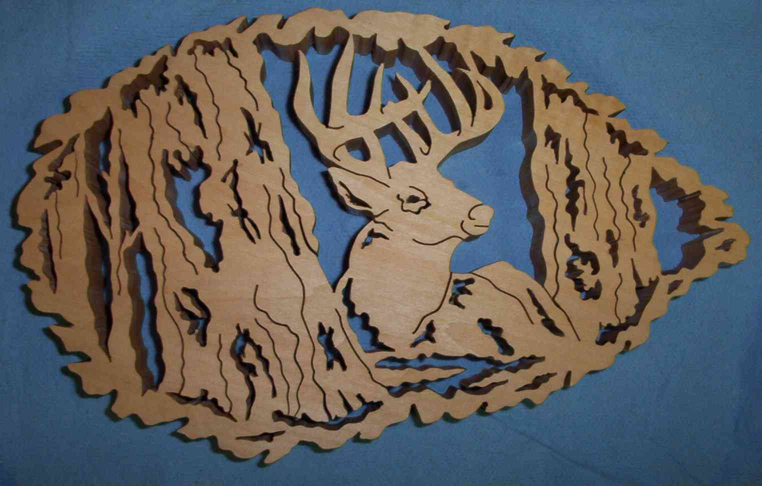 fretwork deer