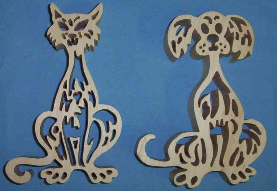 fretwork dog&cat