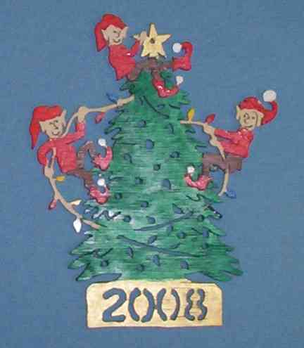 dated ornament for 2008