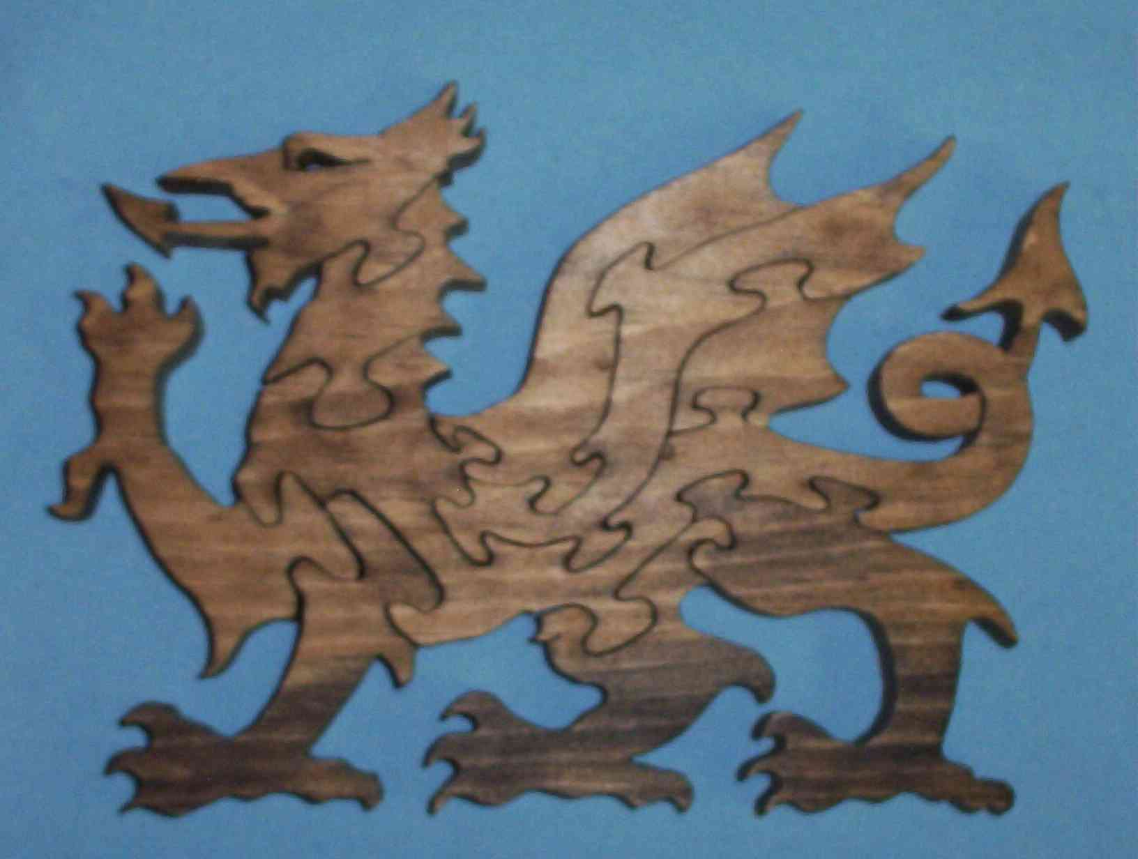 puzzle welsh dragon
