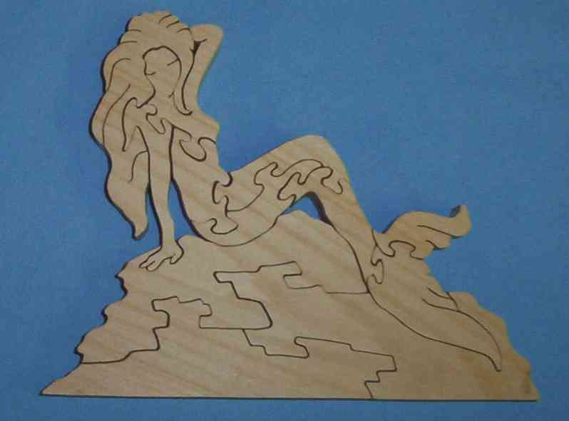 puzzle mermaid
